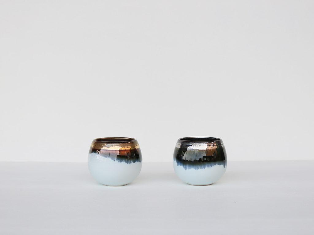 墨流し しずくカップ(小) 有田焼